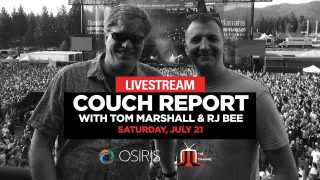 Couch Report w/ Tom Marshall + RJ Bee :: 7/21/18 :: The Gorge Amphithatre :: Pre-Show